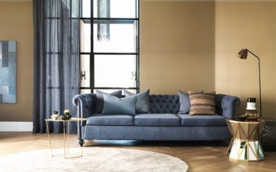 Denim Design: The Jean-Look Is Hitting Home Decor